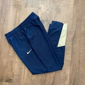 NIKE Men's Navy Blue basketball pants Size M
